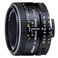 AF Nikkor 50mm F1.8D Reviews and Specs
