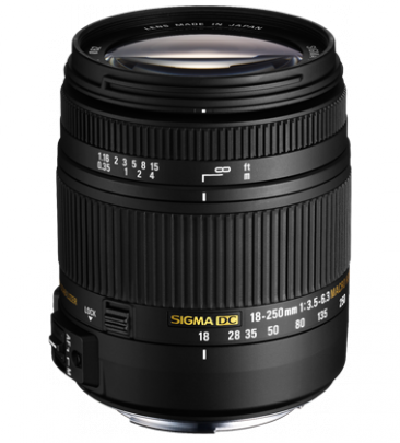 18-250mm f/3.5-6.3 DC Macro OS HSM Reviews and Specs
