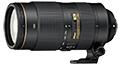 AF-S Nikkor 80-400mm F4.5-5.6G ED VR Reviews and Specs