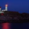 Maine Lighthouse at dusk