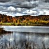 Barnum Lake, Haliburton Ontario, October 2012