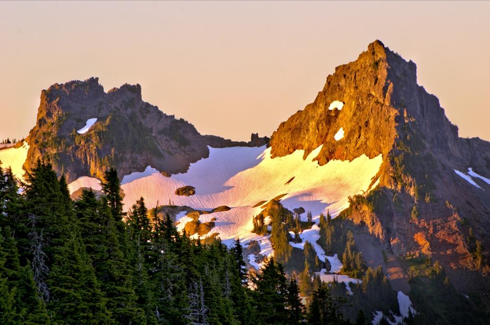 Tatoosh Range Sunrise