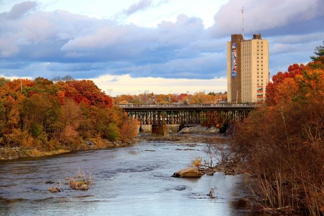 Merrimack River Lowell, MA