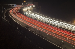 Light trails 1