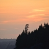 Sunset over Calder's Head