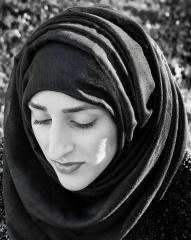 Woman In Park - Portrait 1