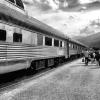 Train trip across Canada.