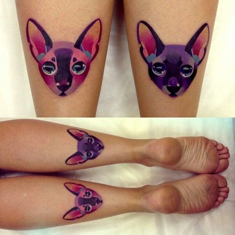 Ink18256  Purple Cats????  I honestly don't know why either hahaha