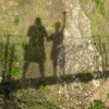 After Lascaux   Our shadows while On suspension bridge