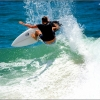 Surfing At Burleigh