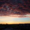 Taunus sunset (Editing exercise Jan. 15, 2017)