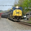 Csx mix freight  train