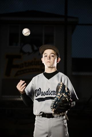 Baseball portrait