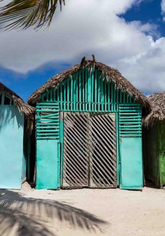 Mano Juan Dorf in Saona Dominikanische Republik