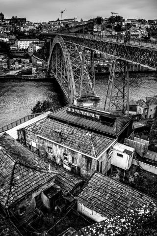 D. Luis Bridge in Porto - Portugal