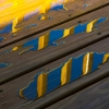 Porch Railing Reflection (D1H)