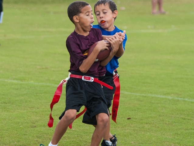 The intensity of kids sports