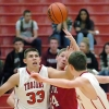 New Palestine VS Center Grove Boys Varsity, JV Basketball 7