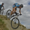 MTB Race on 2012 Olympic course at Hadleigh in Essex