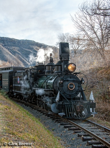 D&RGW locomotive 346