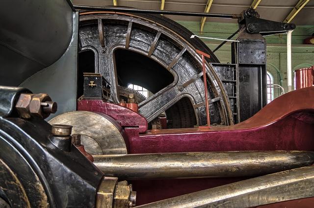Coal mining machinery HDR