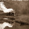 Uboat in consall sepia