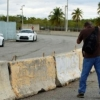 Behind the wall,  Ponce, PR
