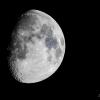 69% Waxing Gibbous Moon
