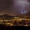 Lightning Over Kelowna BC   Paul Cotton Films