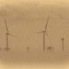 Low Fog at Buffalo Harbor Calotype