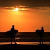 Sunset a la Surf