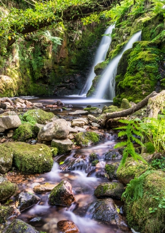 Venford Brook Falls, Dartmoor