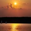 Sun Set over Lake