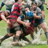 Rugby in the wet
