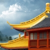 Pagoda Rooftops