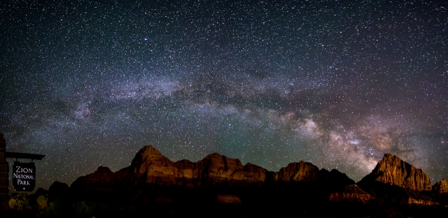The Night Lights of Zion