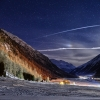 Moonlight serenade in Livigno