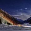 Moonlight serenade in Livigno