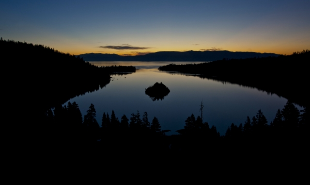 Sunrise on Emerald Bay