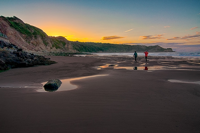 Cayton Bay. North Yorkshire