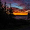 PreDawn Light at West Quoddy Head Lighthouse
