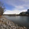 Peace Bridge across the Bow RiverJT1 4785