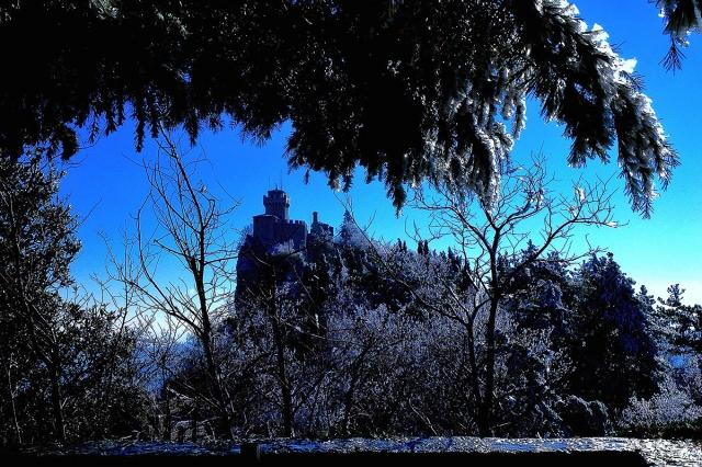 """The """"Cesta"""" Castle in San Marino Republic"""