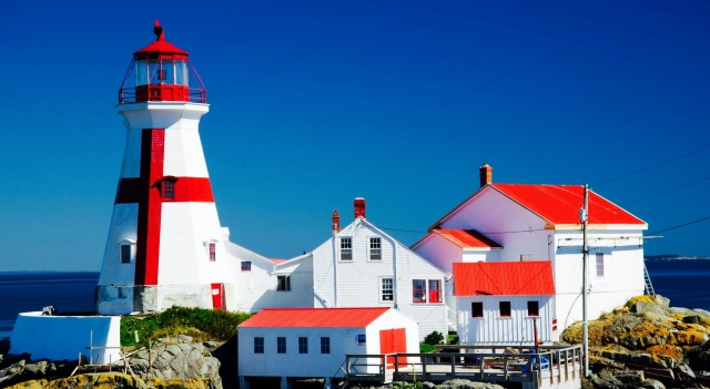 Campobello Island lighthouse, NB, Canada