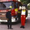 Mickey Mouse and Firefighters !