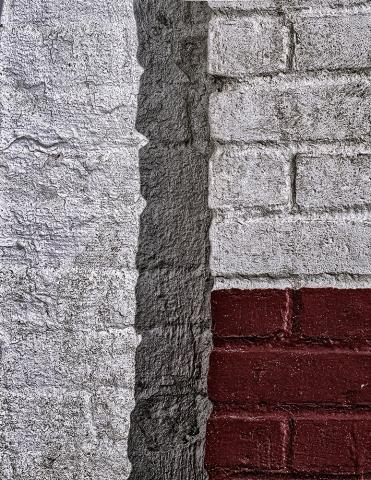 Brick and Mortar Abstract