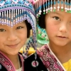 Friends….  hill tribes area, Northern Thailand..