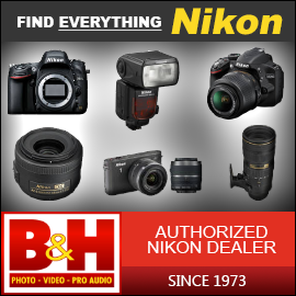 Get everything Nikon at BH Photo!